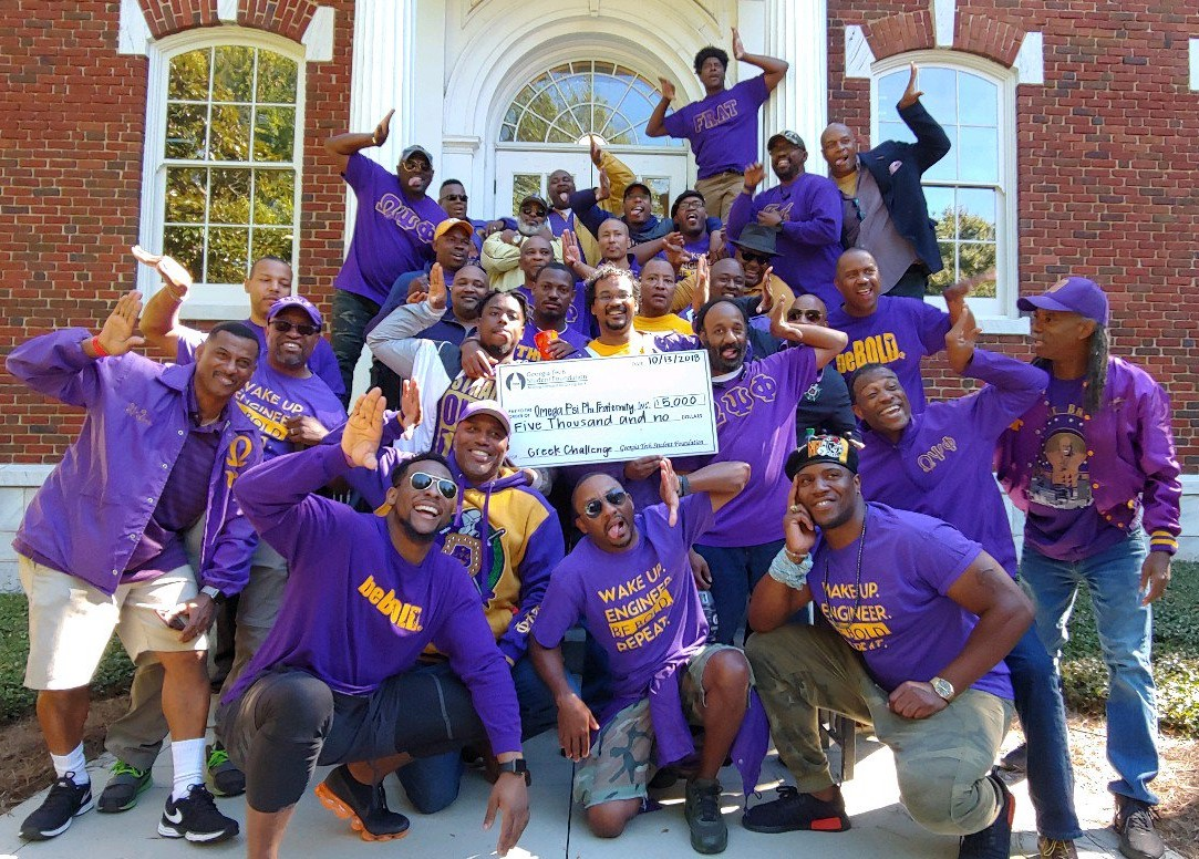 Delta Kappa has also been recognized for its peerless scholarship and  outstanding community service by Omega Psi Phi Fraternity 9e4099956980b
